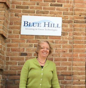 Joyce Ferris Managing Partner and Founder of Blue Hill Partners and a 30-year Chestnut Hill resident, is all smiles since the building is now fully occupied.