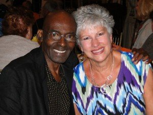 Connie Bolig, vice-president of the board ofKeystoneCare in Wyndmoor, welcomed back her friend Jai Chestnut during a visit in September, 2013. Chestnut was an HIV-AIDS patient whose life was saved and extended by 10 years by the care he received atKeystone Hospice.