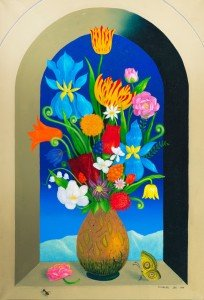 """""""Floral Still Life,"""" by Charles Jay."""