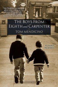 """Lawyer-turned-novelist Tom Mendicino's powerful book, """"The Boys from Eighth and Carpenter,"""" about a brutal father and his sons, one gay and one straight, was discussed during Tom's appearance at Big Blue Marble Bookstore in West Mt. Airy last Saturday evening."""