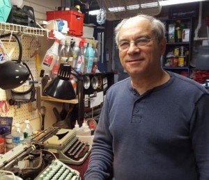 Kravitz, 66, buys, sells and repairs typewriters at Moving Arts of Mt. Airy (MaMa), 6819 Greene St. (at Carpenter Lane), where he meets customers on Saturday and Tuesday afternoons and by appointment.