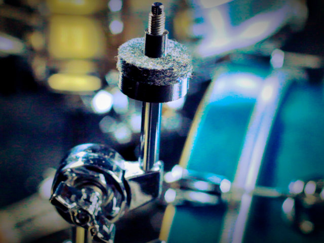 Juravich created the Spinbal, which adds a whole new level of sonic output for drummers.