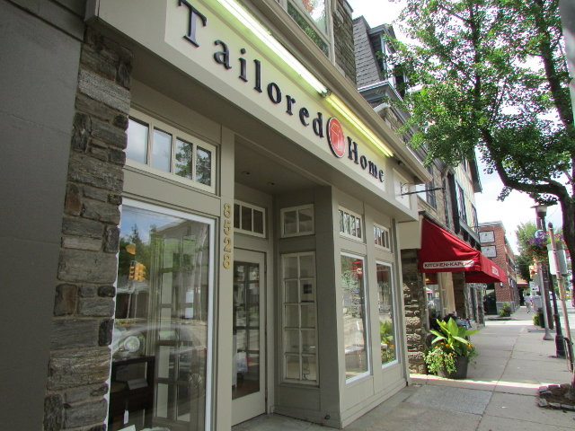 Tailored Home's new shop front on Germantown Avenue. (Photo by Lizzie Stricklin)