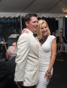 Jeff Hammond acted as the auctioneer while FOX 29 Philadelphia anchor and reporter Dawn Timmeney was the evening's honorary emcee.
