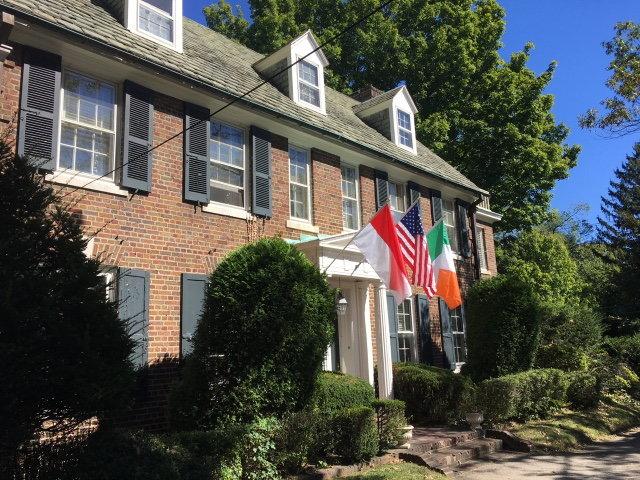 The home of Philadelphia icon Grace Kelly.