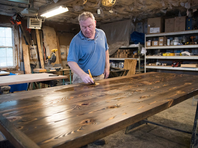 Flourtown Firm Turns Old Wood Into, Reclaimed Wood Furniture Philadelphia