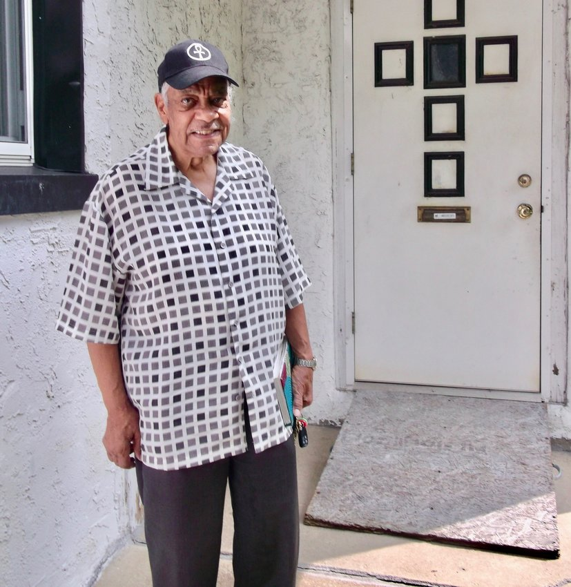 The Rev. Joe Williams is the pastor of Mt. Airy United Fellowship Church, a non-denominational tabernacle he founded five years ago at 701 W. Johnson St.