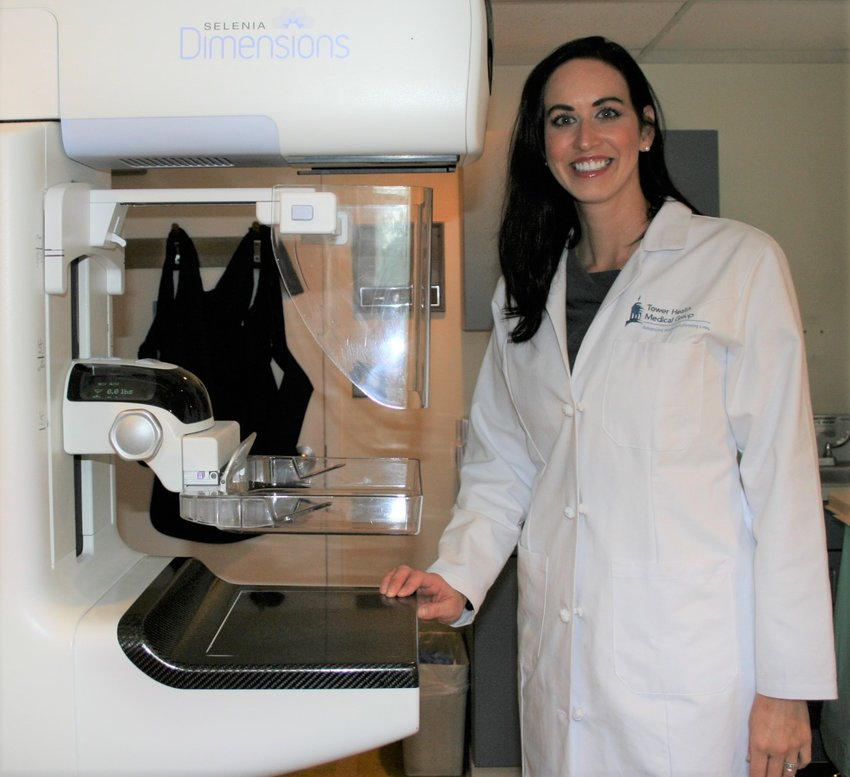 Dr. Amanda Woodworth is the Regional Director of Breast Services at the Chestnut Hill Hospital-Tower Health Women's Center.