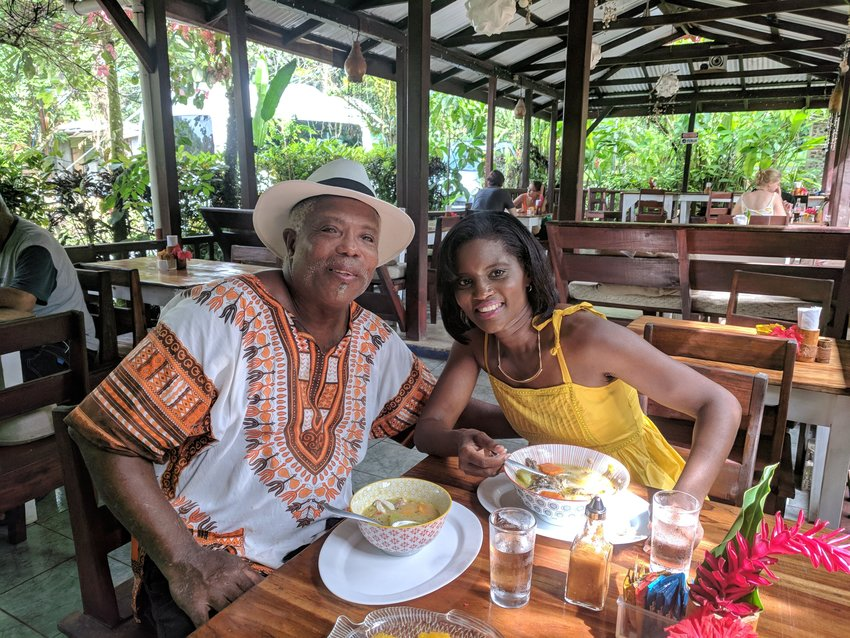 Kim met many interesting Afro-Latino individuals who are featured on her TV episodes, such as Selvin Brown, owner of a popular restaurant.