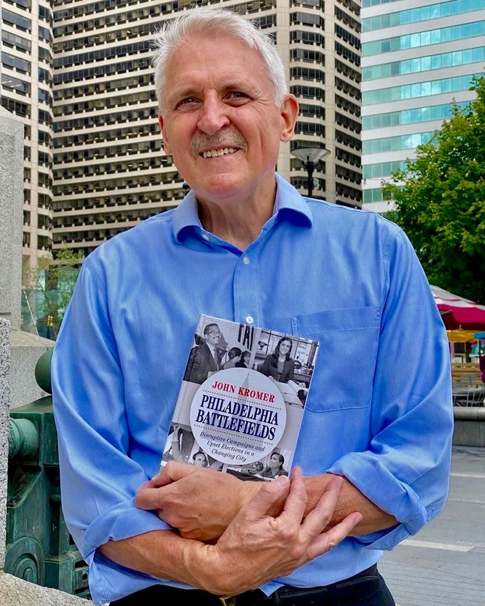 """West Mt. Airy resident John Kromer, who served as city director of housing in the Rendell administration, will discuss his book, """"Philadelphia Battlefields,"""" via Zoom, sponsored by Big Blue Marble."""