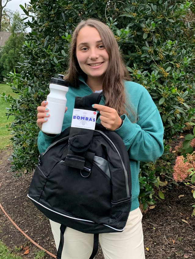 """Alexa Rhodes, 16, a junior at Springside Chestnut Hill Academy (SCH), has created """"H.E.L.P.I.N.G. The Homeless Backpacks,"""" a non-profit organization that provides many necessities to homeless people in the Philadelphia area."""