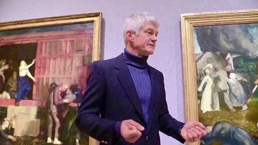 Long-time Mt. Airy resident Paul DuSold, one of Philly's most prominent portrait painters, has been an instructor at Woodmere Art Museum for 22 years, but he is now teaching via Zoom.