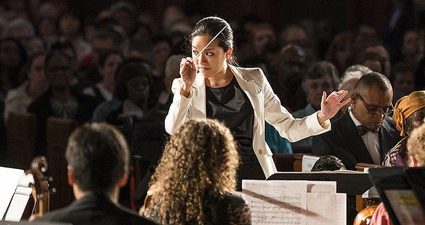 The Philadelphia Orchestra's assistant conductor Erina Yashima.