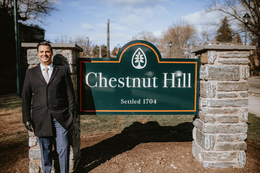 """This was an impressive effort which resulted in the creation of two landmark gateways that will welcome visitors to Chestnut Hill for decades to come,"" said Philip Dawson, executive director of the Chestnut Hill Business District."