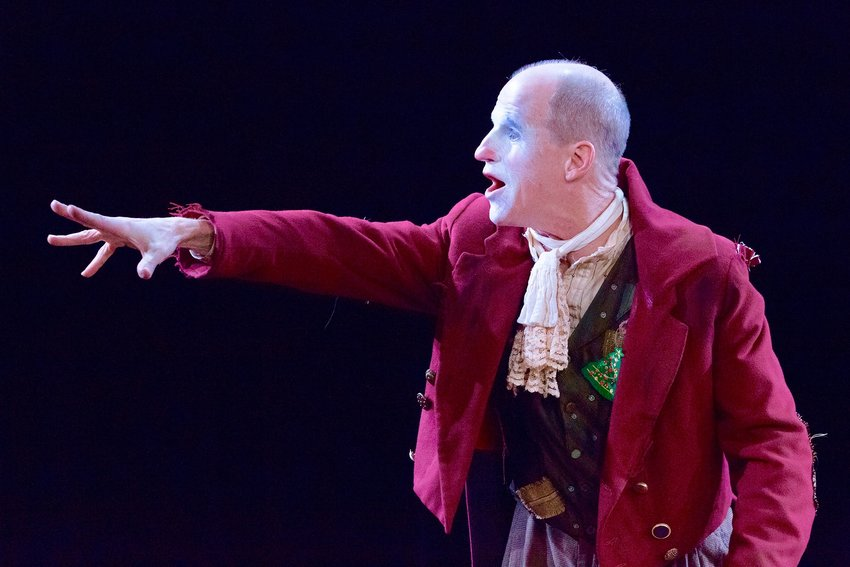 """Hill area resident Anthony Lawton stars in the Lantern Theater Company's production of Charles Dickens' classic """"A Christmas Carol,"""" now streaming through Dec. 27."""