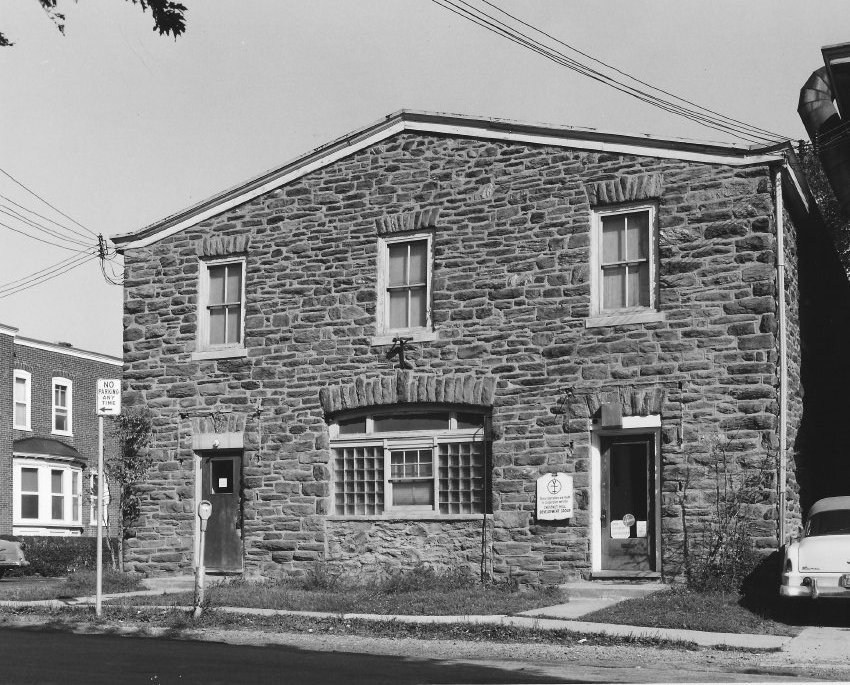 30 W. Highland Ave. in the 60s. Photo courtesy of the Chestnut Hill Conservancy Archives