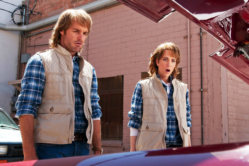 Will Forte and Kristin Wiig in 'MacGruber.'