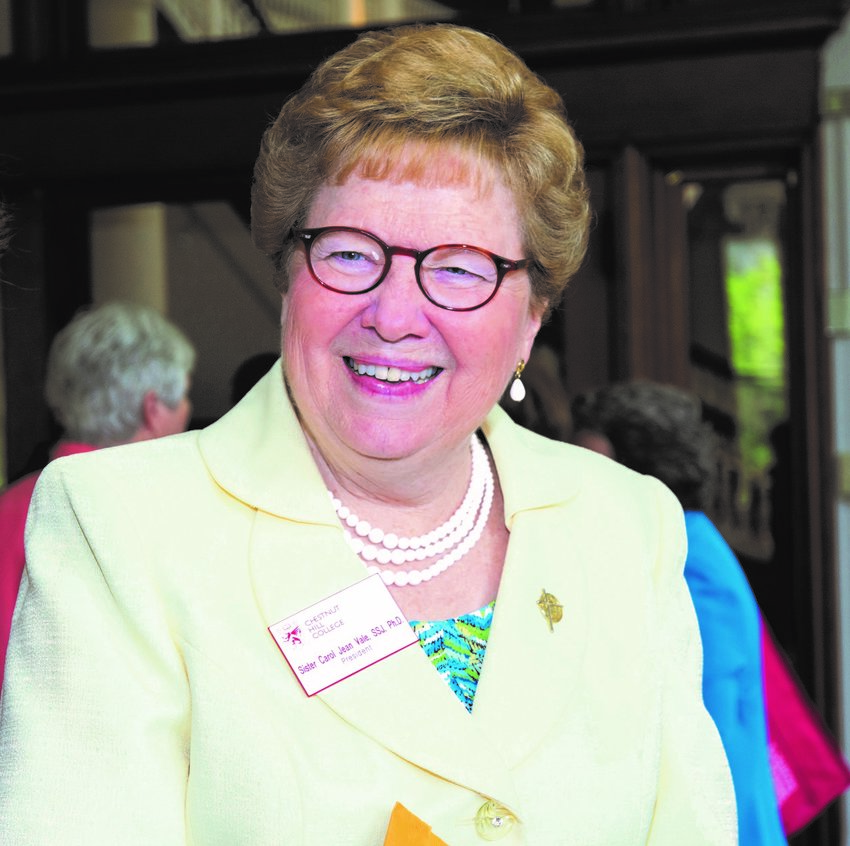 Chestnut Hill College President Sister Carol Jean Vale will retire next year.