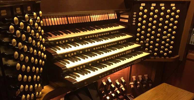 The renowned organ of St. Paul's Episcopal Church is currently undergoing restoration and will be reassembled in summer if all goes according to plan.