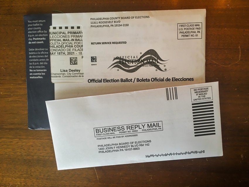 In the last election, over 365,000 Philadelphians voted by mail. For the May 18 primary, less than 70,000 have applied for mail-in ballots.
