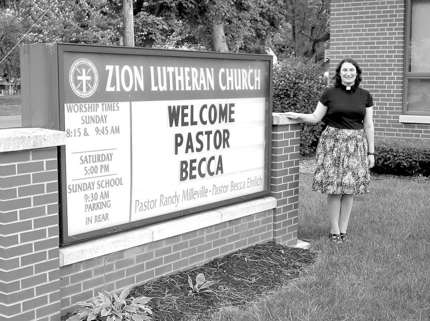 """Rev. Becca Ehrlich, an ordained pastor and a West Mt. Airy resident, will discuss her book, """"Christian Minimalism: Simple Steps for Abundant Living,"""" at a Zoom event on Monday, May 24, 7 p.m."""