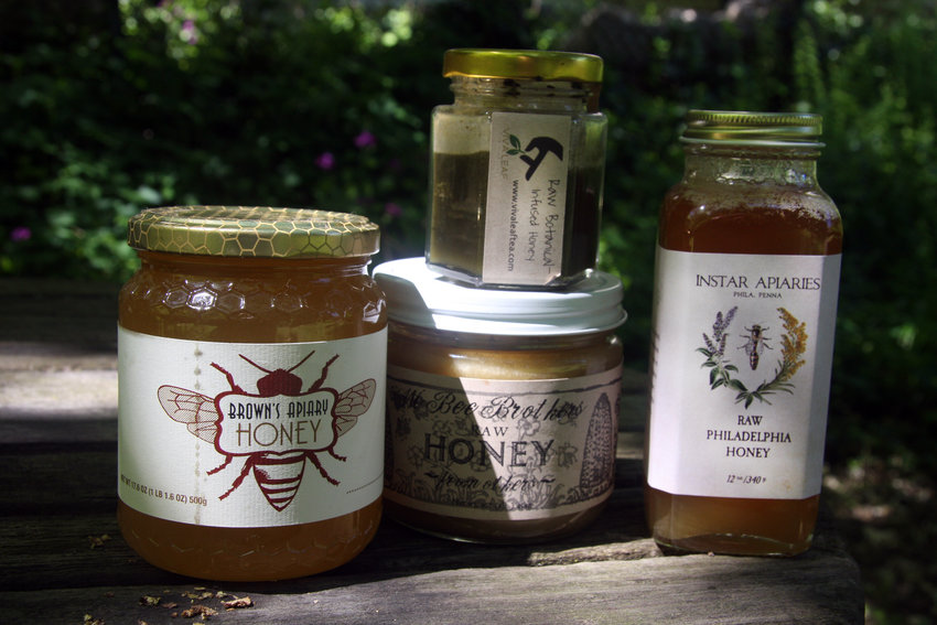 Only a handful of local beekeepers are big enough to market their honey. (Photo by Walt Maguire)