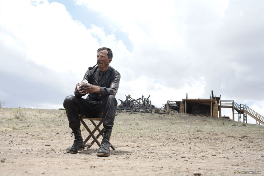 """Daniel Day-Lewis as the oil prospector Daniel Plainview in """"There Will Be Blood."""""""