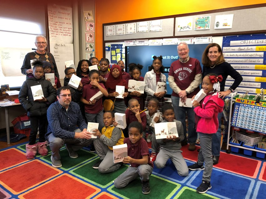 Chestnut Hill Rotary focuses on education by creating academic initiatives and building ongoing relationships, such as enhancing science and math programs at Eleanor C. Emlen Elementary School.