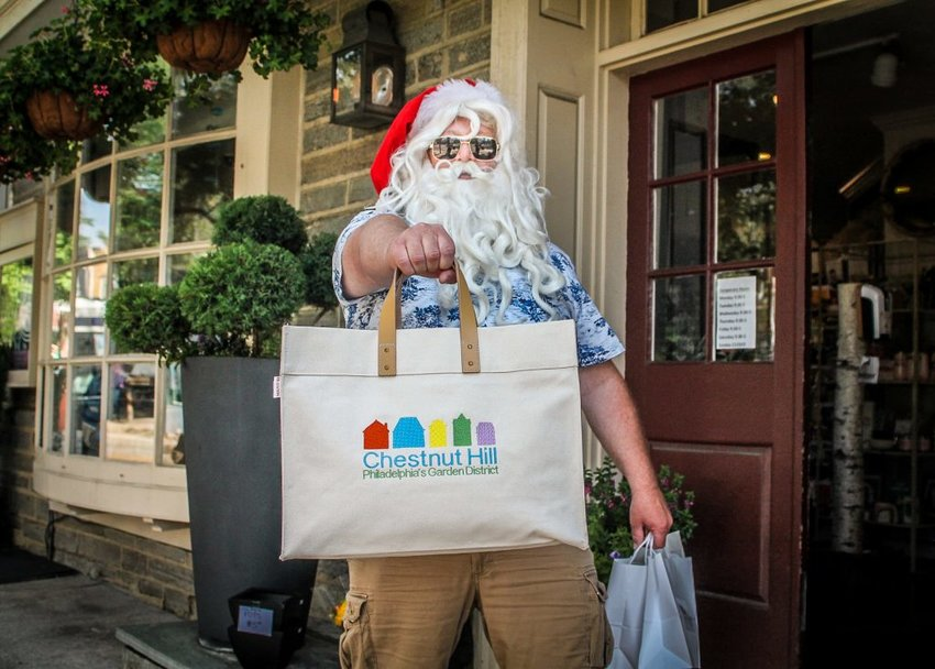 Instead of the traditional summer sidewalk sale, something for those who missed the traditions of the Christmas season last year.