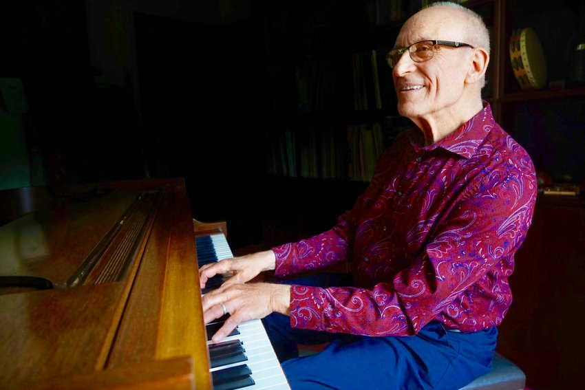 Mt. Airy pianist Lou Walinsky was just named Artist of the Month by Braver Angels, a national organization trying to de-polarize the deep divisions in the U.S.