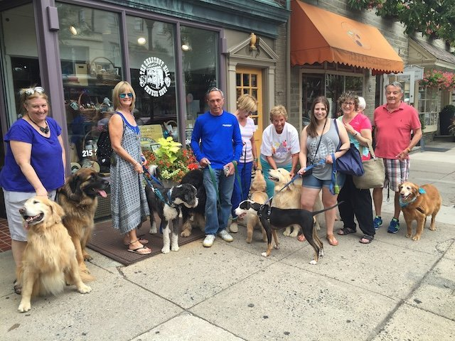 The Bone Appetite is always a center attraction for dog lovers.