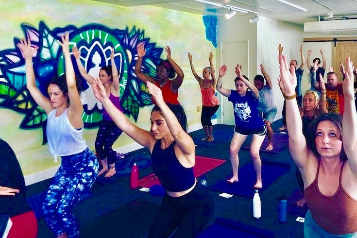 Robert and Arielle Ashford are the owners of Unity Yoga Studio at 8012 Germantown Ave. in Chestnut Hill, which specializes in working with clients who are in recovery from addiction.