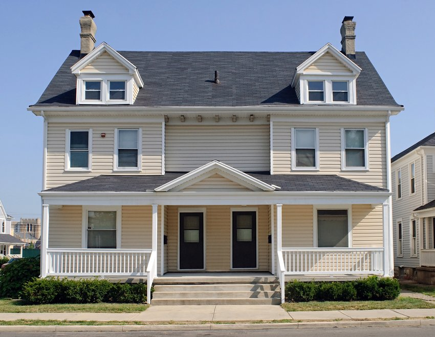 Residing in a Twin, Duplex or Townhouse has some design challenges that are easy to overcome with simple tips!