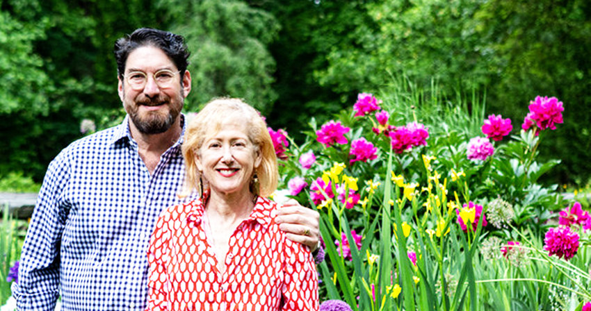 Chris, who passed away on Aug. 6 at age 59, and his wife Wendy loved to cook, collect art and design their exquisite gardens and habitats.