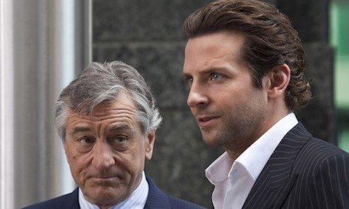 """Robert De Niro and Bradley Cooper in """"Limitless"""" (2011)."""