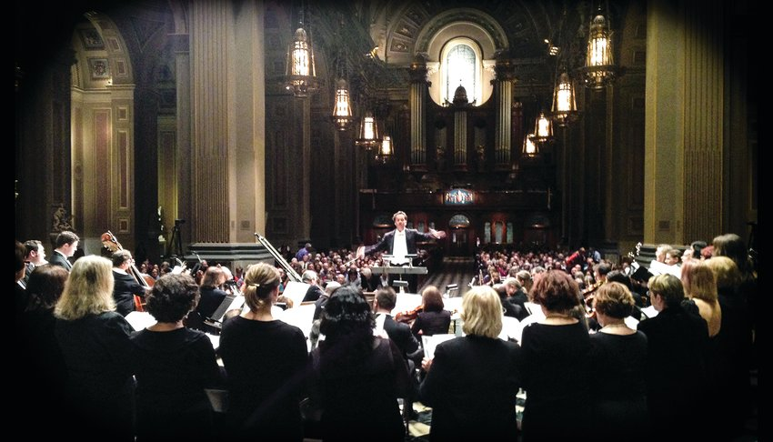 """Valentin Radu and Camerata Ama Deus will present """"BachFest"""" Sunday, Sept. 12, at 6:30 p.m., in St. Katharine of Siena Catholic Church in Wayne. Then, for the first time in nearly two years, Camerata Ama Deus returns to Chestnut Hill with """"Vivaldissimo"""" Saturday, Nov. 13, at 8 p.m., in the Episcopal Church of St. Martin-in-the-Fields."""