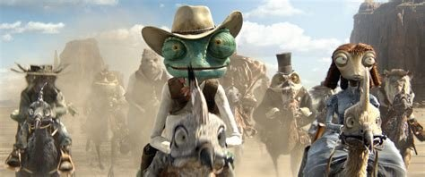 """Johnny Depp is a chameleon as the voice of the title character in """"Rango"""" (2011),"""