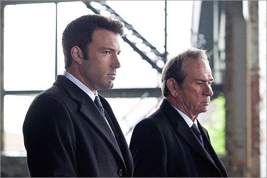 "Ben Affleck and Tommy Lee Jones, ""The Company Men"" (2010)."