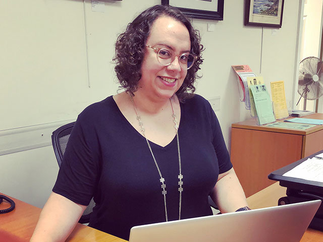 """Mariangela Saavedra, who took many of the Center on the Hill's popular classes online as the center's director, is the director of """"Rogues' Gallery,"""" now at The Stagecrafters until Oct. 10."""
