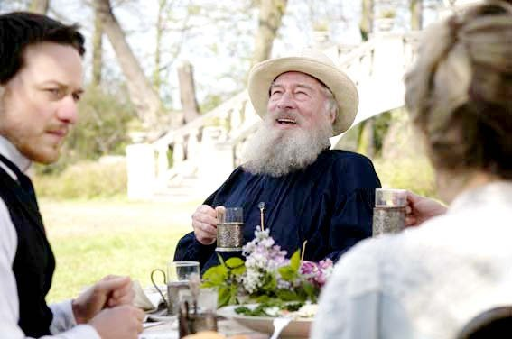 """""""The Last Station"""" (2010)  takes us inside Tolstoy's domicile in 1910 about the final days of the Russian author. James McEvoy (left) and Christopher Plummer as Tolstoy."""