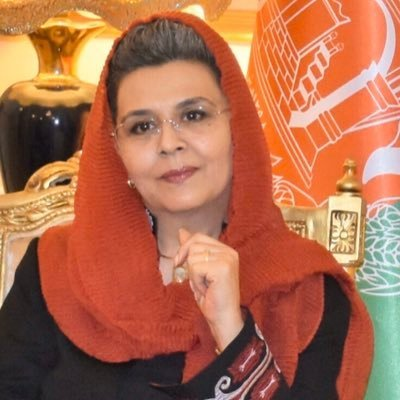 Helena Malikyar is Afghanistan's former ambassador to Italy. She recently relocated to Chestnut Hill after the collapse of the Afghan government.