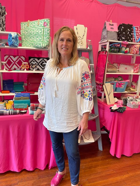 Monika Schermer is a fixture in Chestnut Hill, running her Bohemian Pink boutique. This month, as awareness is being raised about breast cancer, Schermer decided to tell her story, a cautionary tale for women who have put off annual mammograms or don't think they need one.