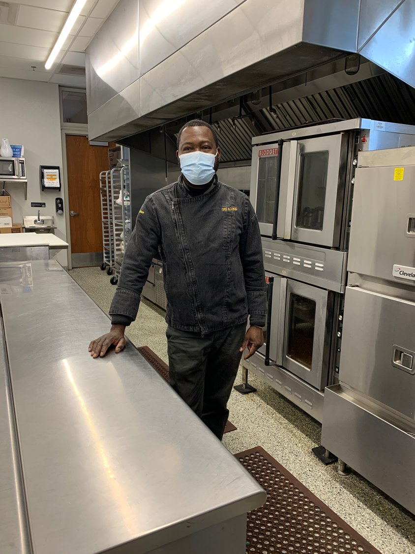Face to Face head chef Altenor Vaval will spend his holiday making meals for those who need them at the Germantown nonprofit.