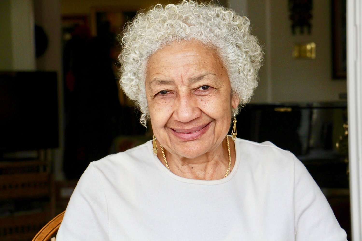 Long-time community activist Yvonne Haskins, a lawyer and former Philadelphia police officer, has quite a remarkable family history. (Photo by Emma Lee/WHYY)