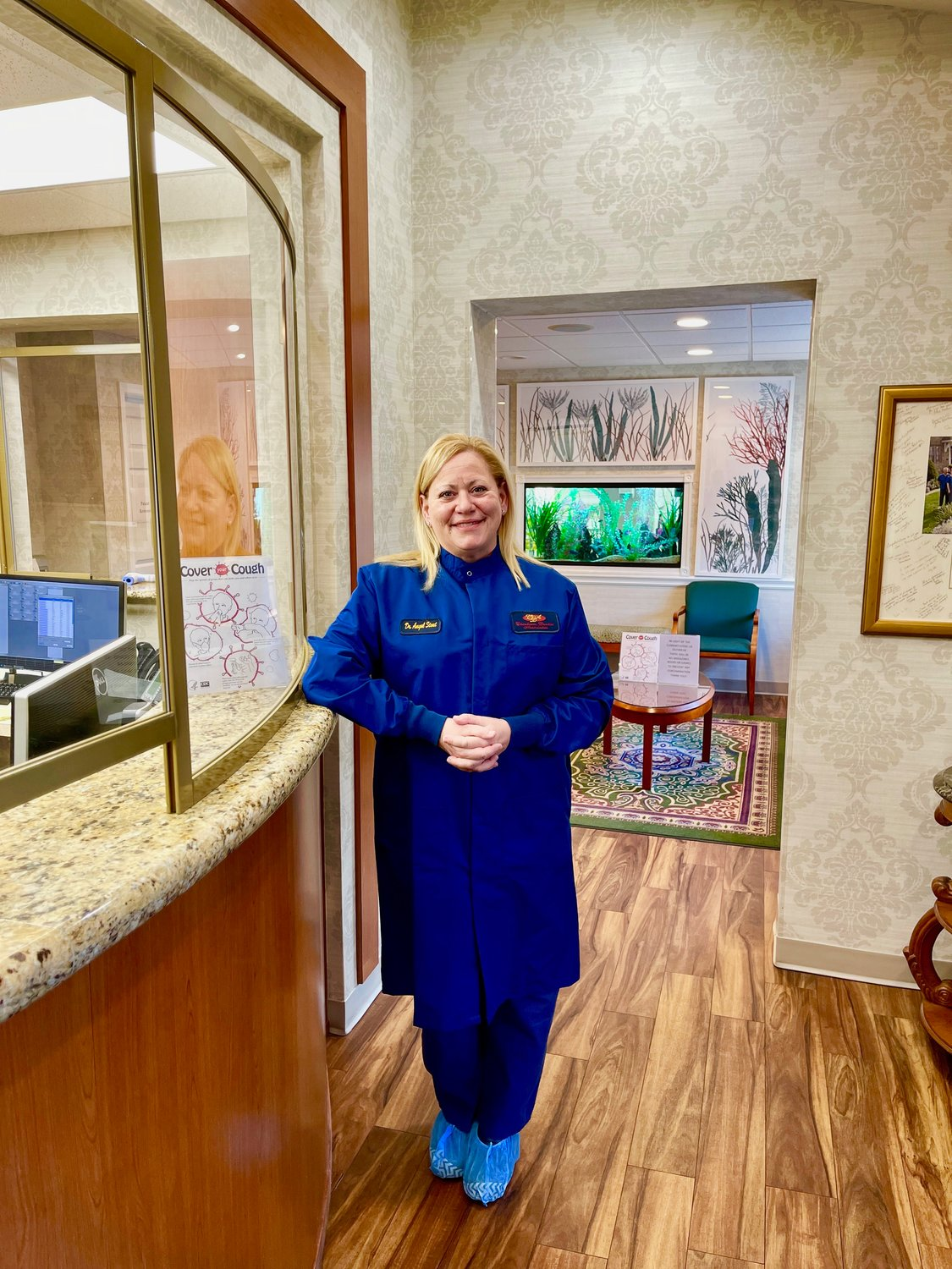 Dr. Angela Stout, of Chesheim Dental Associates in Erdenheim, had to shut down her practice for almost four months, except for emergencies, because of the pandemic.