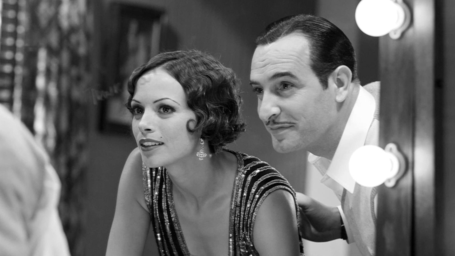 "Bérénice Bejo and Jean Dujardin in ""The Artist."""