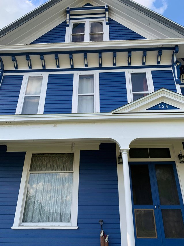 Many details of the home, such as the cornices, were hiding in plain sight until they were painted and restored making them more noticeable and bringing out their beauty.