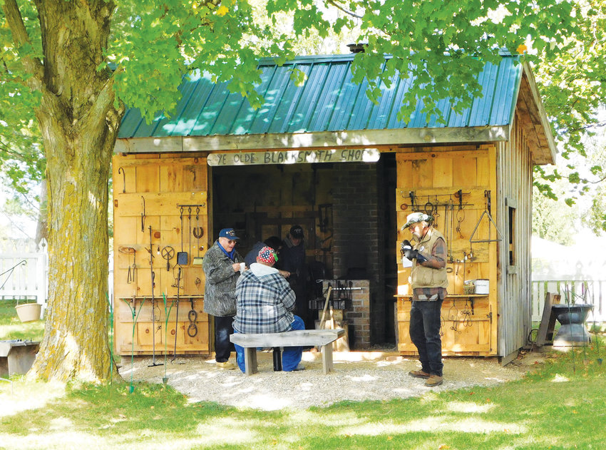 The Blacksmith Shop from Old Fashion Day last year.