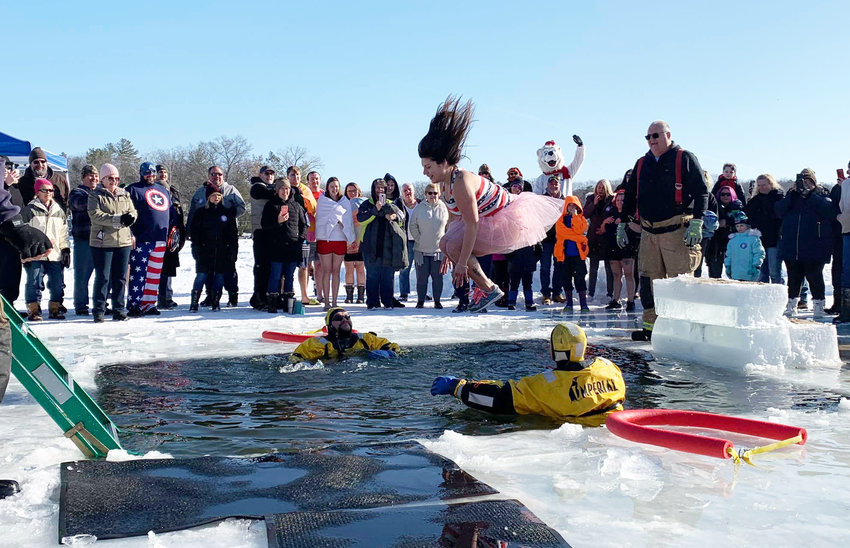 Over 20 jumpers jumped in the waters of Budd Lake for the 6th annual polar plunge!