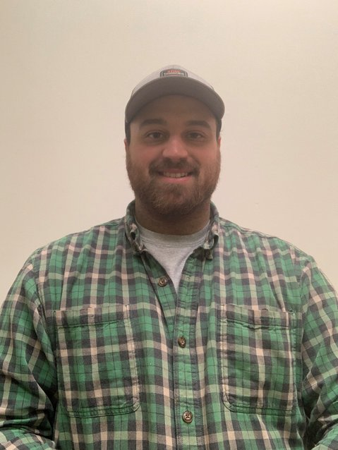 Cole Michaud, new district forester for the Clare and Gladwin Conservation Districts.